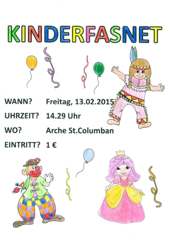 Kinderfasnet Columban 2015