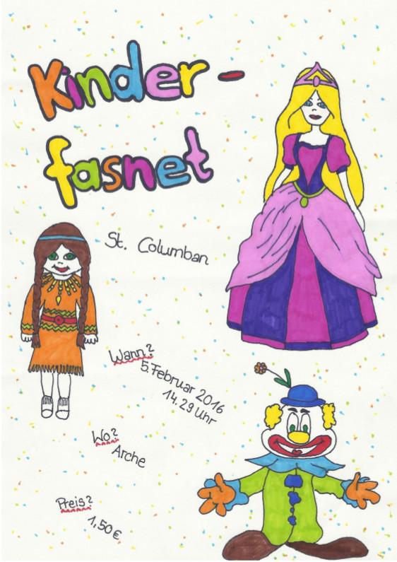 Kinderfasnet2016