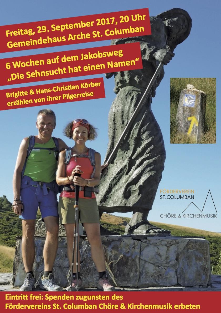Plakat_Jakobsweg_St Columban