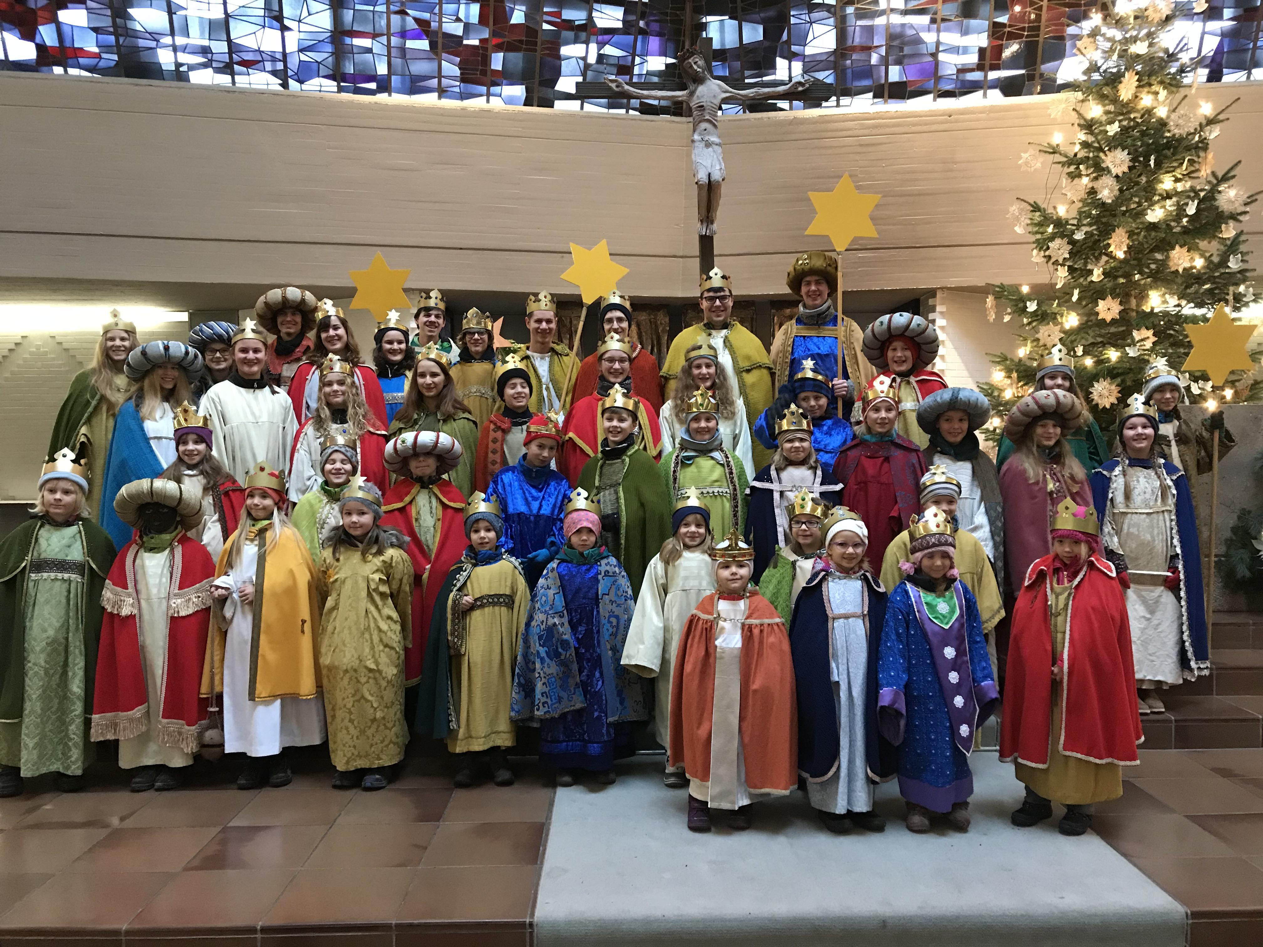 Sternsinger St. Columban